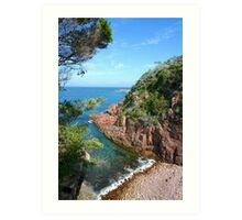 Fingal Bay NSW Art Print