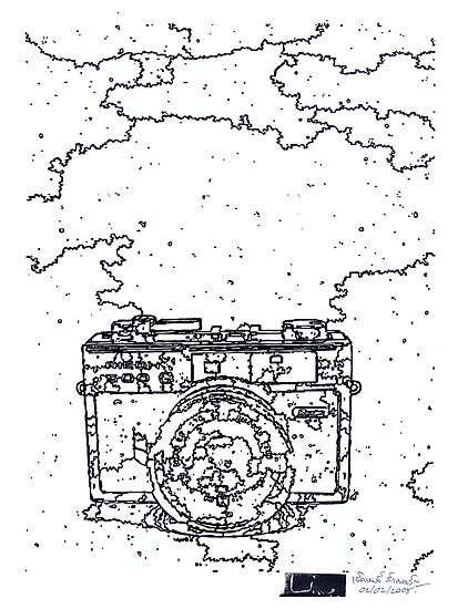LINE camera 10 : Ricoh 500G Camera by LINEart