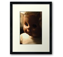 Simple Doll Framed Print