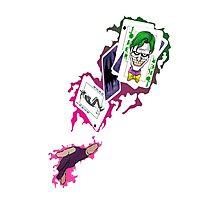 Gambit/Joker Mashup Photographic Print