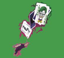 Gambit/Joker Mashup Kids Tee