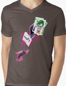 Gambit/Joker Mashup Mens V-Neck T-Shirt