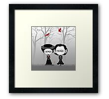 Little Sir Thomas Sharpe & Sister Framed Print