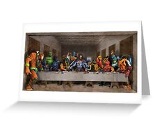 He-Man Villains Epic Last Supper Greeting Card