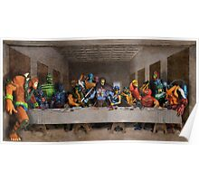 He-Man Villains Epic Last Supper Poster