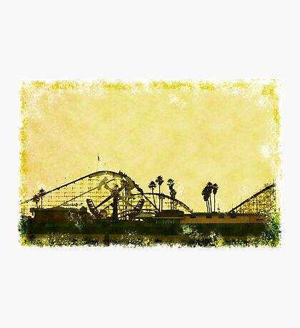 Big Dipper, Santa Cruz Beach Boardwalk, California Photographic Print