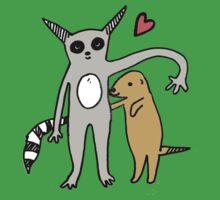 The Lemur & The Meerkat Kids Tee