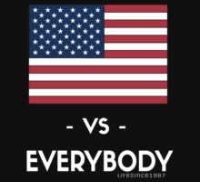 USA VS EVERYBODY by LifeSince1987