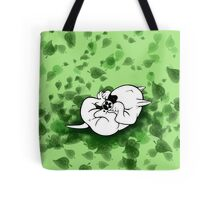All The Paws Up English Bull Terrier Tote Bag