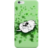 All The Paws Up English Bull Terrier iPhone Case/Skin