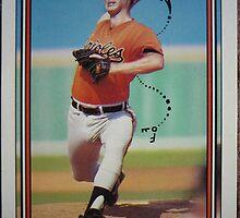 288 - Gregg Olson by Foob's Baseball Cards