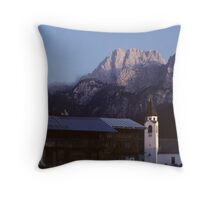 In the Dolomites Throw Pillow