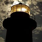 Light House by the Moon Light by Biggzie