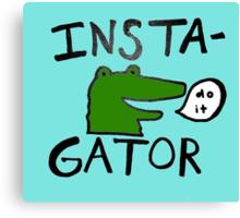 Inst(i)gator Canvas Print