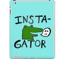 Inst(i)gator iPad Case/Skin