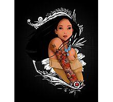 Pocahontas - Inked Photographic Print
