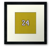 KOBE 24 Framed Print
