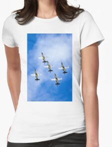 Breitling air display team L-39 Albatross Womens Fitted T-Shirt