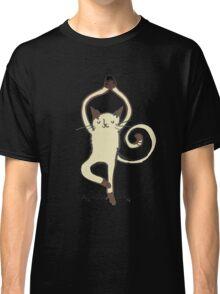 Yoga Cat Classic T-Shirt