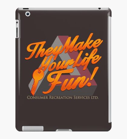 Consumer Recreation Services (CRS) iPad Case/Skin