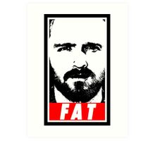 Pinkman - FAT Art Print