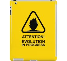 Attention! Evolution in progress - Super Saiyan Tshirt iPad Case/Skin
