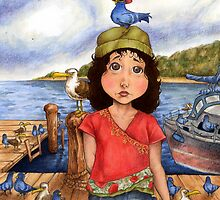 The Bird Girl of Pier 18 by Steven Novak