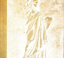 Statue If Liberty Original Patent By Bartholdi 1879 Sticker
