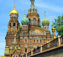 Saviour on the Blood from Griboedov Canal Waters by M-EK