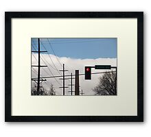 3300 South Salt Lake City Framed Print