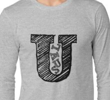 Usual Logo Long Sleeve T-Shirt