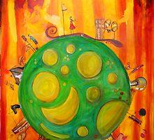 The World by Estera Lungu