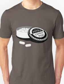 """Harden Up"" Cement Pills Unisex T-Shirt"