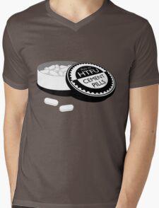 """Harden Up"" Cement Pills Mens V-Neck T-Shirt"