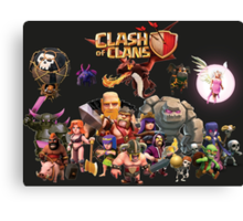 Clash of Clan - Assemble Canvas Print