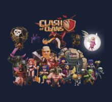 Clash of Clan - Assemble Kids Clothes