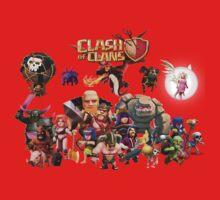 Clash of Clan - Assemble Kids Clothes