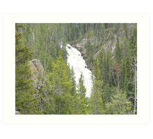 Kepler Cascades Art Print
