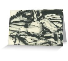 abstract landscape №1 Greeting Card