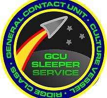 GCU 'Sleeper Service' Mission Patch by collingridge