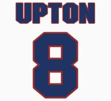 National baseball player Justin Upton jersey 8 by imsport