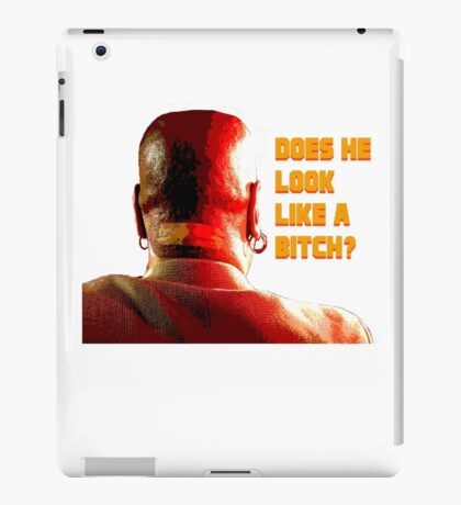 Marsellus Wallace iPad Case/Skin