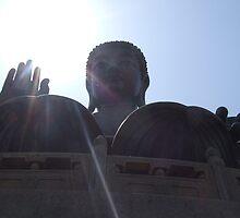 Sunny Buddha by gail