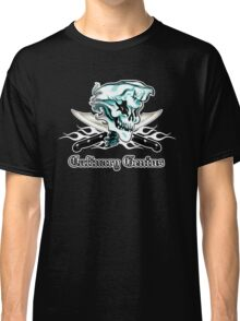 Chef Skull 11: Culinary Genius 3 white flames Classic T-Shirt