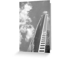 sky scraper Greeting Card