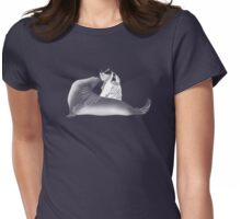sealed with a kiss on dark  Womens Fitted T-Shirt