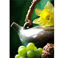 Spring Tea Photographic Print