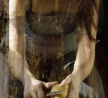 Girl With Knife by Judy Olson