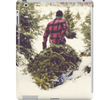 Christmas Tree Farm iPad Case/Skin