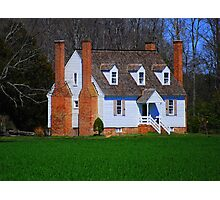 Country Home 1800's Style Photographic Print